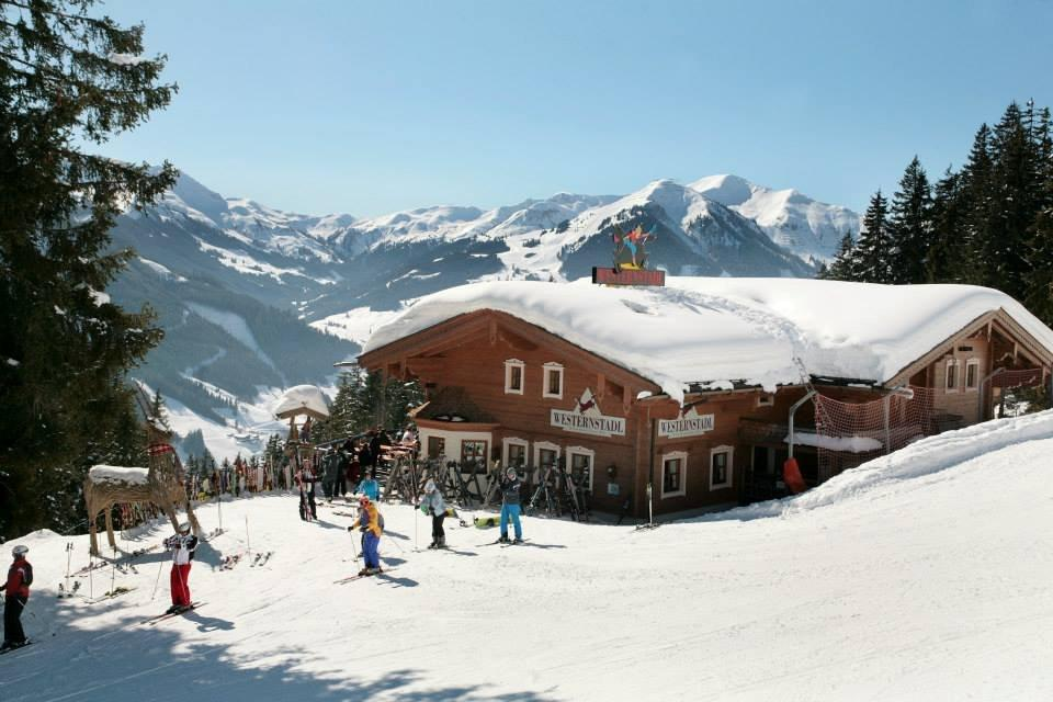 Westernstadl in Saalbach, de berghut van hotel Altachhof