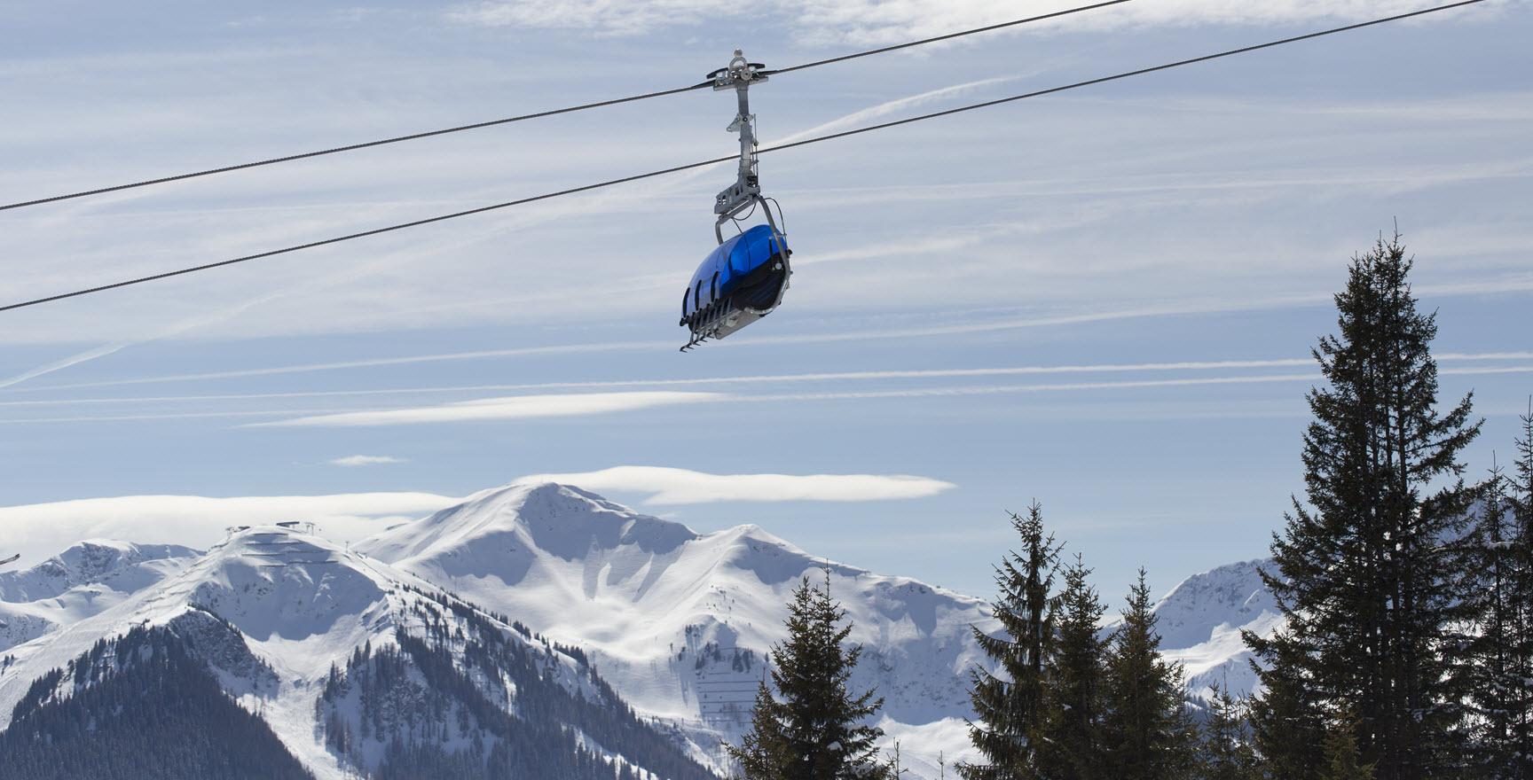 Saalbach Hinterglemm skilift
